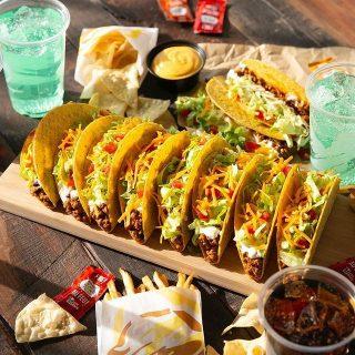 Friendly advise: Eat tacos today. 🌮💜 #iseeataco #LiveMas #TacoBellCy