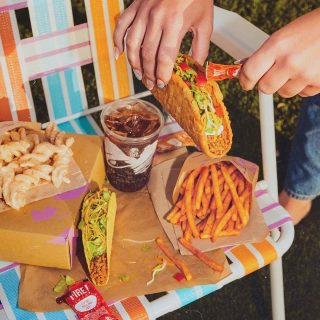 Who knew that a box could solve all your (lunchtime) problems? 📦 #TacoBellCy #LiveMas #AtHomeWithTacoBell