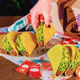 Tacos. Tacos. Tacos. Tacos everywhere! 😍🌮 #iseeataco #LiveMas #TacoBellCy