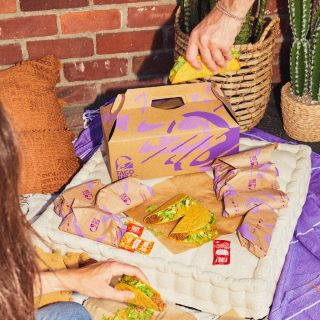 Tacos with friends are always a good idea! 😍🌮 #iseeataco #LiveMas #TacoBellCy