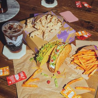 This is the answer. Hungry is the question. #TacoBellCy #LiveMas #AtHomeWithTacoBell